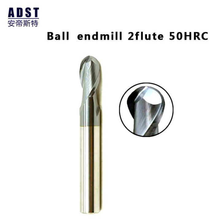 Ball End mill | 50 HRC | carbide | Tungusten | Milling Tools | Milling Cutter | Machine Tools | Cutting Tools